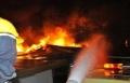 سولم: إصابة شخصين في حريق نشب في حظيرة