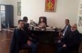 رئيس مجلس محلي كفرقرع يطلع على اوضاع الطلاب في جامعة ارمينيا