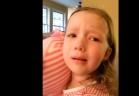 بنت صغيرة تجهش بالبكاء بعد ما عرفت أن رئيس الولايات المتحدة هو باراك أوباما