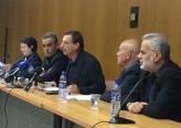 مؤتمر صحفي في الكنيست ضد الملاحقة السياسية وإبعاد زعبي