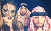 كلوي كارداشيان تهين العرب في هالويين