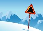 لعبة سباق التزلج