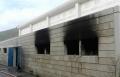 اضرام النيران بالقاعة الرياضية بمجد الكروم