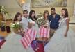 ملكة وملك جمال العرب 2015 مرسيل ابو شقارة وعبد فراج