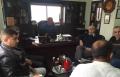 جلسة عمل بين مدير عام اتحاد المياه منطقة شفاعمرو د. أحمد حجازي ورئيس المجلس المحلي بير المكسور