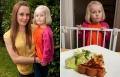طفلة بريطانية بالخامسة غير قادرة على التوقف عن الأكل