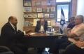 اجتماع مع وزير الداخلية لبحث التوصيات حول منطقة نفوذ سخنين