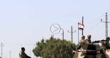 سيناء: مقتل 36 جنديا ومدنيا و38 إرهابيا في اشتباكات