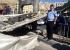انهيار جسر مشاة على طريق عمان الزرقاء ولا إصابات