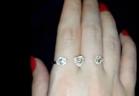 """مي عز الدين تتباهى بخاتمها الالماس الجديد وتقول """"انا مهووسة مجوهرات"""""""