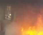 عاجل اشتعال النيران بمنزل مهجور بام الفحم واستياء عارم