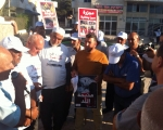 مسيرة الوفاء للشهداء تزور كفر كنا وضريح الشهيد خمايسي