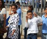 ام الفحم: حملة الطرود الغذائية في مدرسة ابن سينا