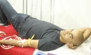 اهالي وادي عاره يتوافدون للتبرع بالدم بمركز اجياد الطبي