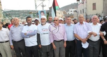 سخنين: مسيرة مركزية متواضعة تخليدا للذكرى الـ 14 لشهداء هبة القدس والاقصى