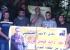 جنين: وقفة تضامنية مع الأسير المضرب عن الطعام رائد موسى