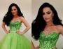 إطلالة مميزة لديانا كرزون في حفل ملكة جمال مصر 2014