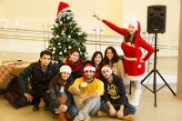مجهولون يزيلون شجرة الميلاد من جامعة القدس
