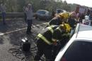 إصابات خطيرة بحادث طرق مروّع قرب يافة الناصرة