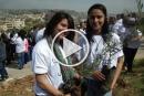 ذكرى يوم الارض: بلدية الناصرة تزرع المئات من اشتال الزيتون في جبل القفزة