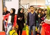 كلية الهندسيين سخنين تشارك في المعرض الدولي للتصميم في حدائق المعارض في تل ابيب