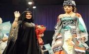 إماراتية تصمم فستانا يشير إلى الوحدة العربية