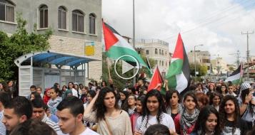 سخنين: انطلاق مسيرة يوم الارض التقليدية بمشاركة واسعة