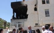 رئيس بلدية الخليل يطلع على الدمار الذي لحق بمنزلي القواسمي وابو عيشة
