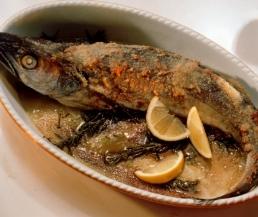 سمك بالفرن