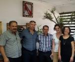 اجتماع في مجلس الشبلي مع إدارة بيرح