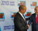 رئيس دولة اسرائيل السابق يشارك بدعم الرياضيات 5 وحدات