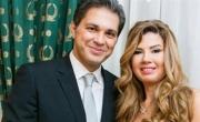 الفنانة رانيا فريد شوقي تحتفل بزواجها الثالث للمرة الثانية
