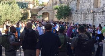 خلال شهر أب: 150 حالة اعتقال في صفوف المقدسيين أغلبها من القاصرين