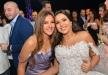 كل شيء عن فستان دنيا سمير غانم في حفل زفاف اختها