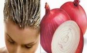 البصل الأحمر لتطويل الشعر ومنع تساقطه!