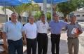 رئيس بلدية الطيرة يقوم بزيارات ميدانية إلى المدارس