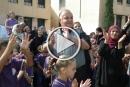 افتتاح العام الدراسي في الناصرة: رئيس البلدية في جولة تفقدية للمدارس