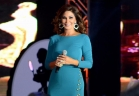 إليسا تخطف أنظار الحضور بفستان فيروزي أنيق مشقوق