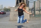 رزان مغربي: أحتفلت بعيد ميلادي عند كوبري قصر النيل وقمت بالرقص والناس تفاعلت معي