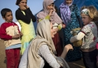 أنجلينا جولي تقطع شهر العسل من أجل أطفال سوريا.. اكتشف السبب ؟