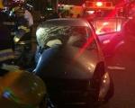حيفا : 4 اصابات في حادث طرق بين حافلة ومركبة خصوصية