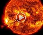 ناسا تكشف صورا لانفجارات ضخمة على الشمس