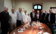 بنك هبوعليم يتبرع للمستشفى الفرنسي لإنشاء معهد لأمراض القلب للأطفال