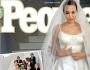 شاهدوا فستان أنجلينا جولي يوم زفافها