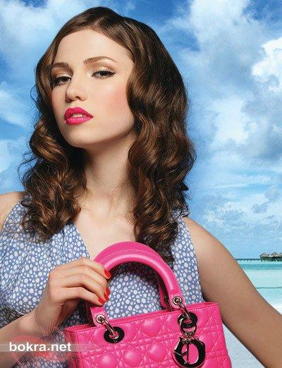 جمال هاواي الاستوائي من وحي عرض أزياء ديور Dior لربيع وصيف 2011