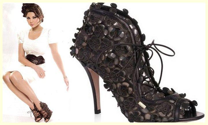 معقول؟! هيفاء وهبي تعرض احذيتها للبيع؟؟
