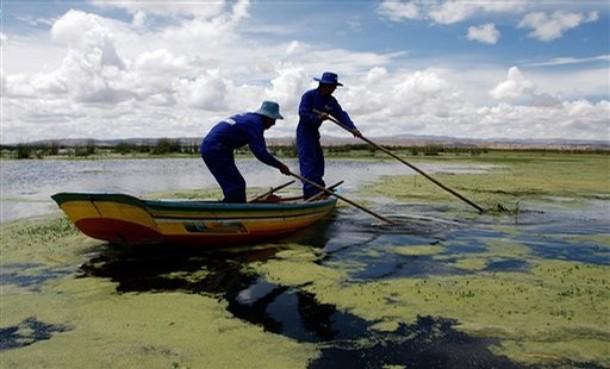 أكثر البحيرات علوا في العالم،