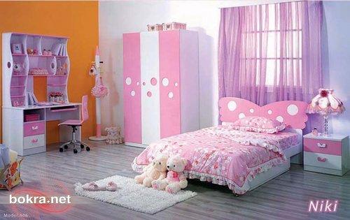 ستائر واغطية و ديكور غرف للصبايا children-bedroom-fur