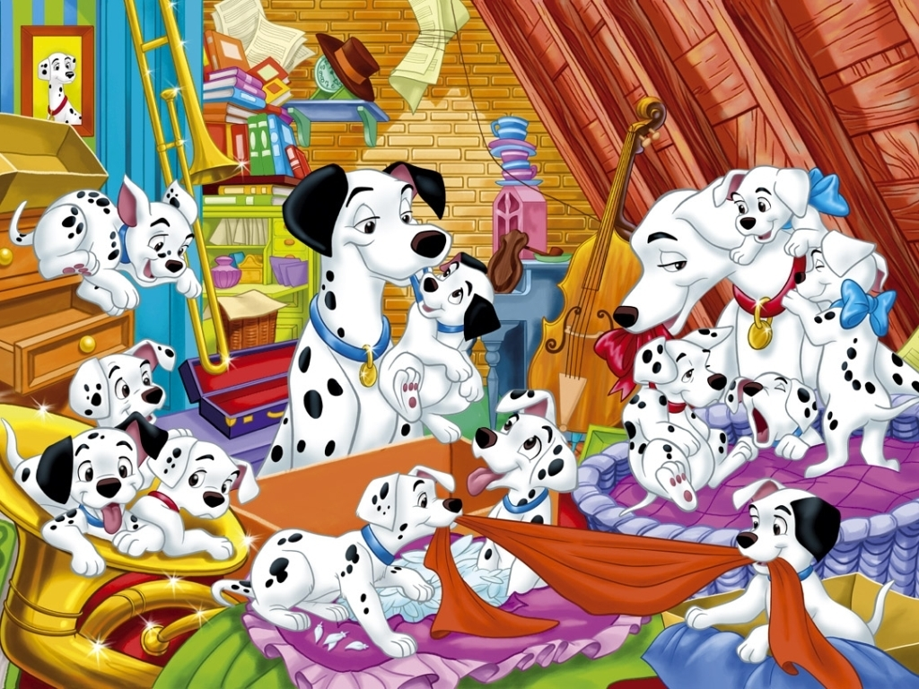 Disney 101 Dalmatians Characters