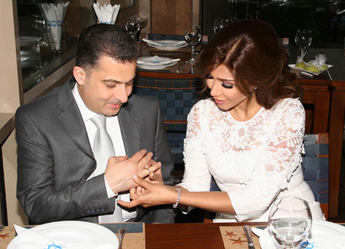 زواج الفنانة أروى عبد الفتاح